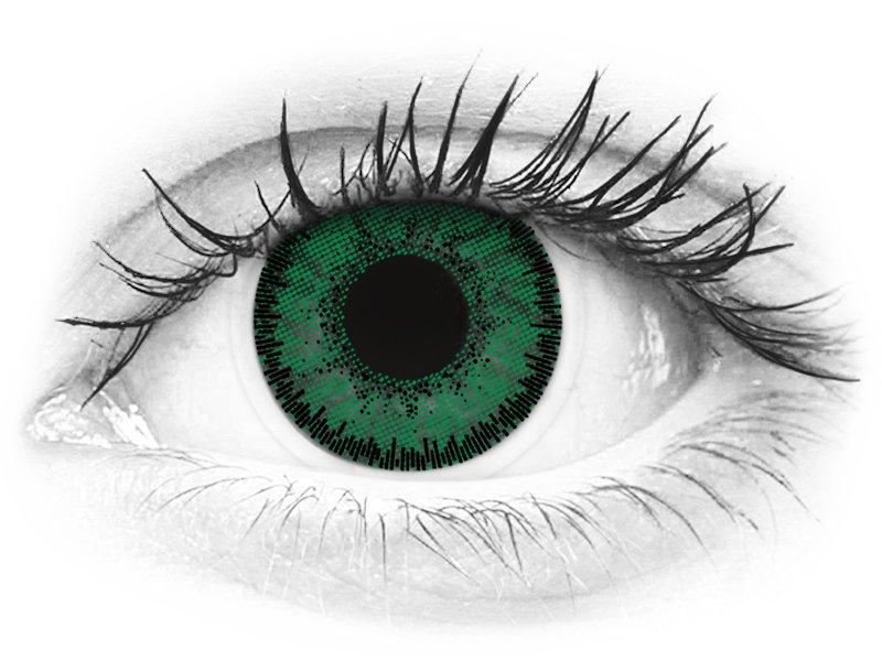SofLens Natural Colors Emerald - mit Stärke (2 Linsen)