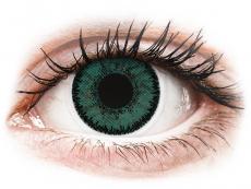 Grüne Kontaktlinsen mit Stärke - SofLens Natural Colors Jade - mit Stärke (2 Linsen)