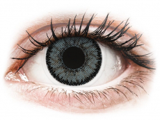Graue Kontaktlinsen ohne Stärke - SofLens Natural Colors Platinum - ohne Stärke (2 Linsen)