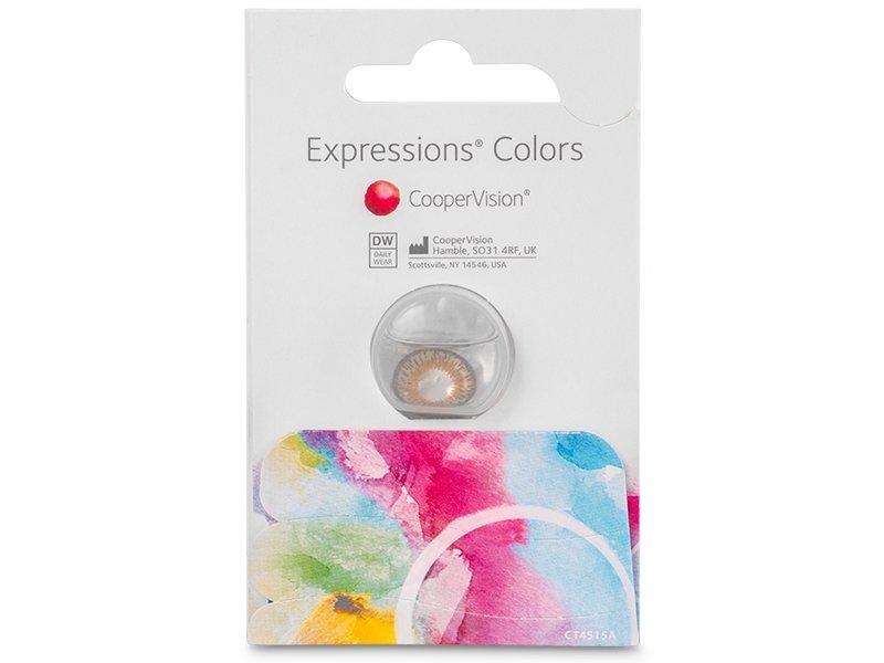 Expressions Colors Aqua - ohne Stärke (1Linse)
