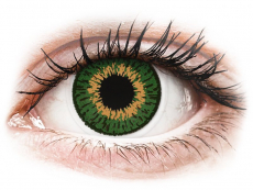 Farblinsen mit Stärke - Expressions Colors Green - mit Stärke (1 Linse)