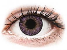 Kontaktlinsen Alcon (Ciba Vision) - FreshLook ColorBlends Amethyst - mit Stärke (2 Linsen)