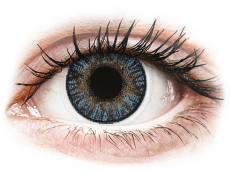 Kontaktlinsen Alcon (Ciba Vision) - FreshLook ColorBlends Blue - mit Stärke (2 Linsen)