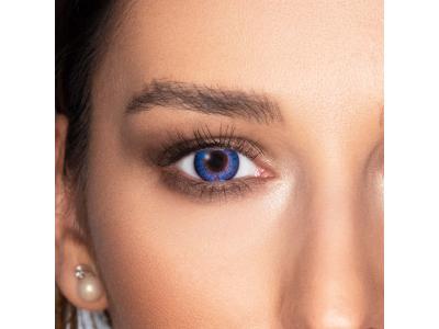 FreshLook ColorBlends Blue - mit Stärke (2 Linsen)
