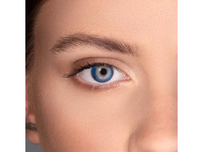 FreshLook ColorBlends Blue - ohne Stärke (2 Linsen)