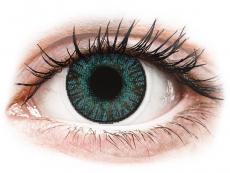 Kontaktlinsen Alcon - FreshLook ColorBlends Brilliant Blue - mit Stärke (2 Linsen)