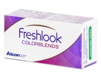 FreshLook ColorBlends Brown - mit Stärke (2 Linsen)