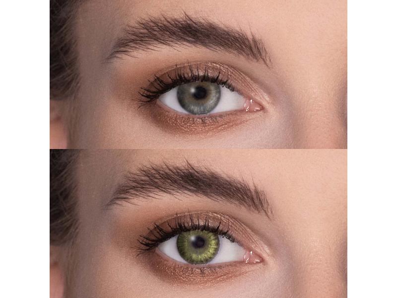 FreshLook ColorBlends Gemstone Green - mit Stärke (2 Linsen)
