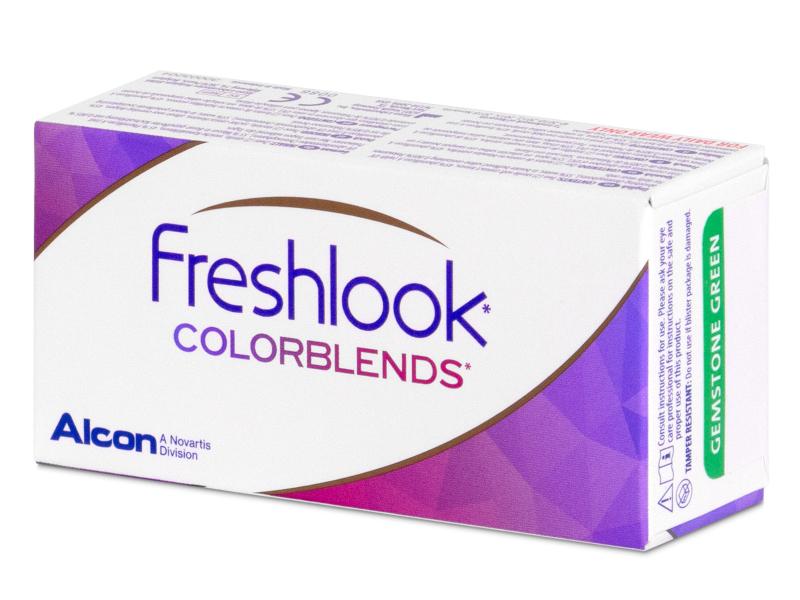 FreshLook ColorBlends Sterling Gray - mit Stärke (2 Linsen)