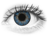 FreshLook ColorBlends True Sapphire - mit Stärke (2 Linsen)