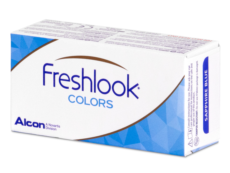 FreshLook Colors Blue - mit Stärke (2 Linsen)