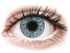 Blaue Kontaktlinsen ohne Stärke - FreshLook Colors Blue - ohne Stärke (2 Linsen)