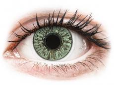 Grüne Kontaktlinsen ohne Stärke - FreshLook Colors Green  - ohne Stärke (2 Linsen)