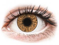 Kontaktlinsen Alcon - FreshLook Colors Hazel - mit Stärke (2 Linsen)