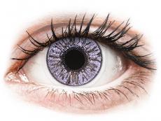 Farblinsen - FreshLook Colors Violet - mit Stärke (2 Linsen)