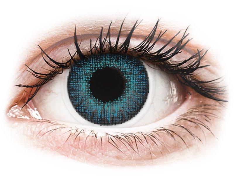 Air Optix Colors - Brilliant Blue - ohne Stärke (2 Linsen) - Coloured contact lenses
