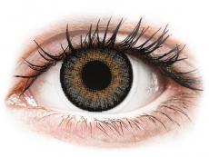 Graue Kontaktlinsen mit Stärke - FreshLook One Day Color Grey - mit Stärke (10 Linsen)