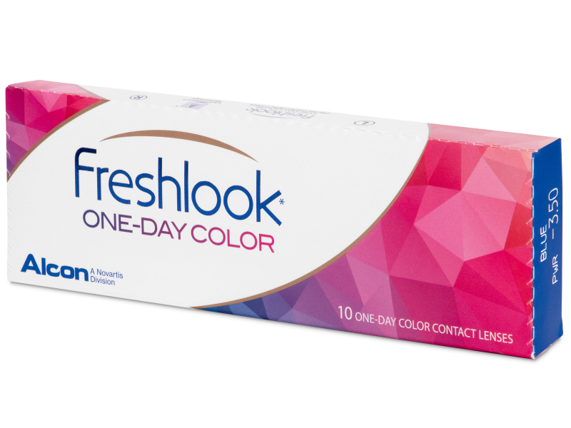 FreshLook One Day Color Green - mit Stärke (10 Linsen)