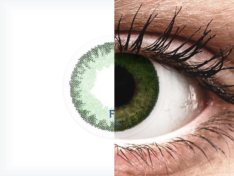 FreshLook Dimensions Sea Green - mit Stärke (6 Linsen)
