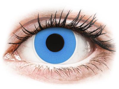 ColourVUE Crazy Lens - Sky Blue - Tageslinsen ohne Stärke (2 Linsen)
