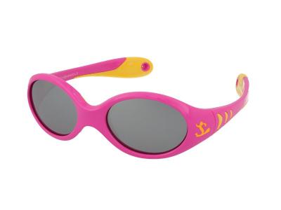 Sonnenbrillen Kid Rider KID77 Pink/Yellow