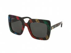 Sonnenbrillen Extragroß - Gucci GG0328S-003