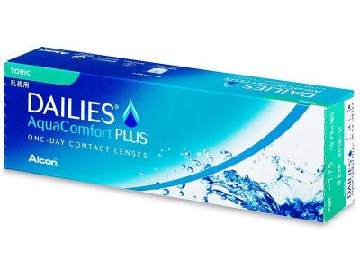 Torische Kontaktlinsen - Dailies AquaComfort Plus Toric (30Linsen)