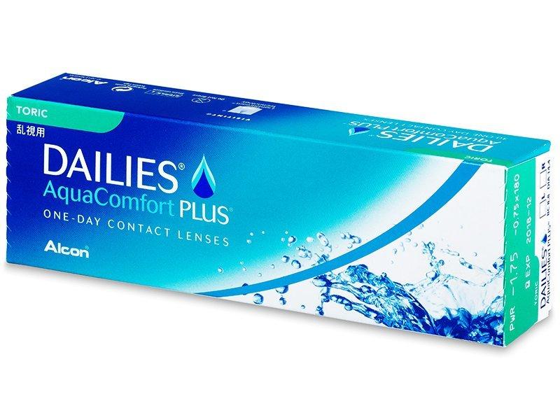 Dailies AquaComfort Plus Toric (30Linsen) - Torische Kontaktlinsen - Alcon