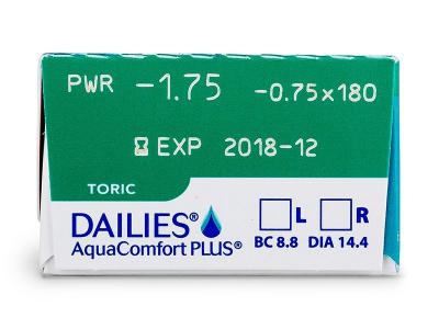 Vorschau - Dailies AquaComfort Plus Toric (30Linsen)