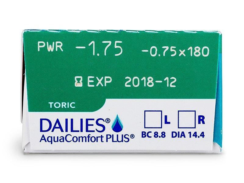 Dailies AquaComfort Plus Toric (30Linsen) - Vorschau