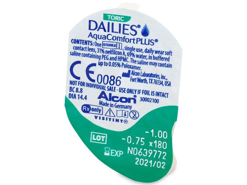 Dailies AquaComfort Plus Toric (90Linsen) - Blister Vorschau