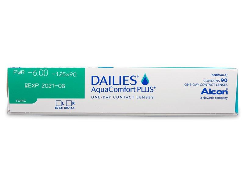Dailies AquaComfort Plus Toric (90Linsen) - Vorschau