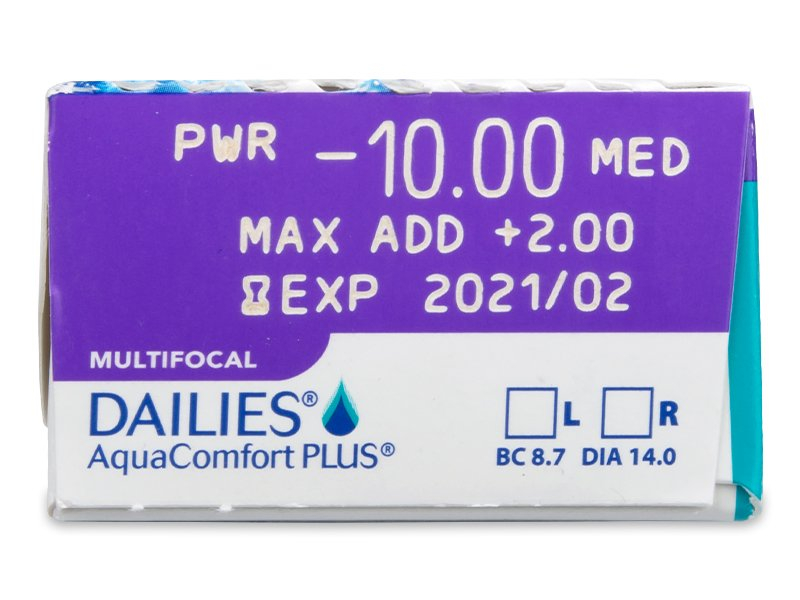 Dailies AquaComfort Plus Multifocal (30 Linsen) - Vorschau