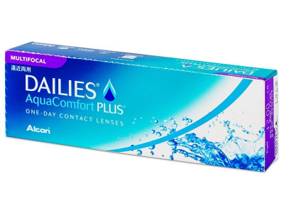 Dailies AquaComfort Plus Multifocal (30 Linsen) - Multifokale Kontaktlinsen