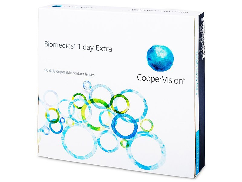 Biomedics 1 Day Extra (90Linsen) - Tageslinsen