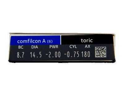 Biofinity Toric (6Linsen) - Vorschau