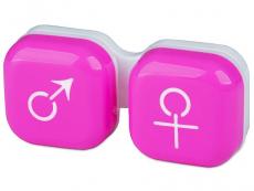 Behälter und Reise-Kits - Behälter man&woman - rosa