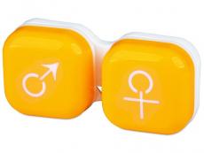 Behälter und Reise-Kits - Behälter man&woman - gelb