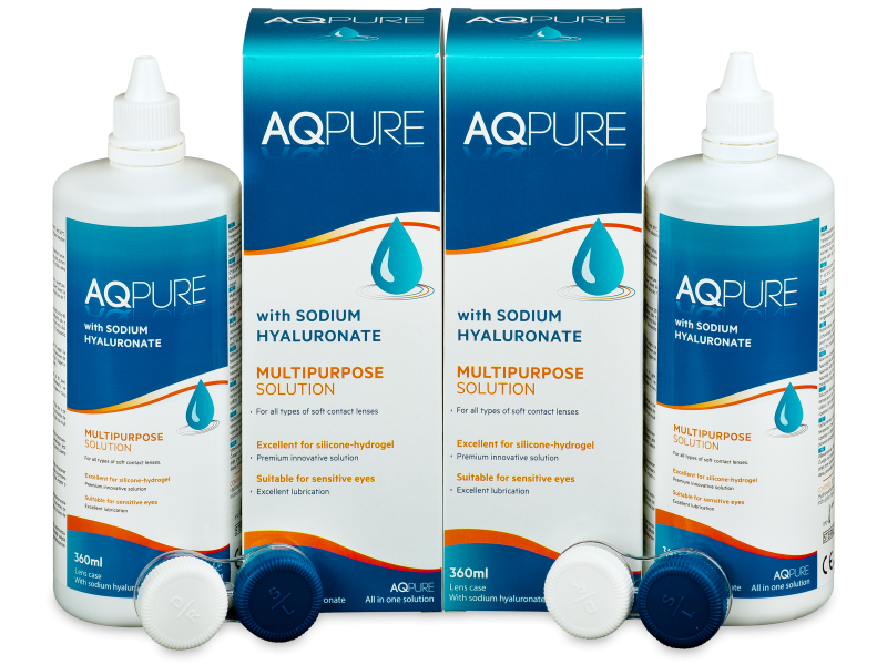 Pflegemittel AQ Pure 2 x 360ml  - Pflegelösung – günstigeres Duo Pack