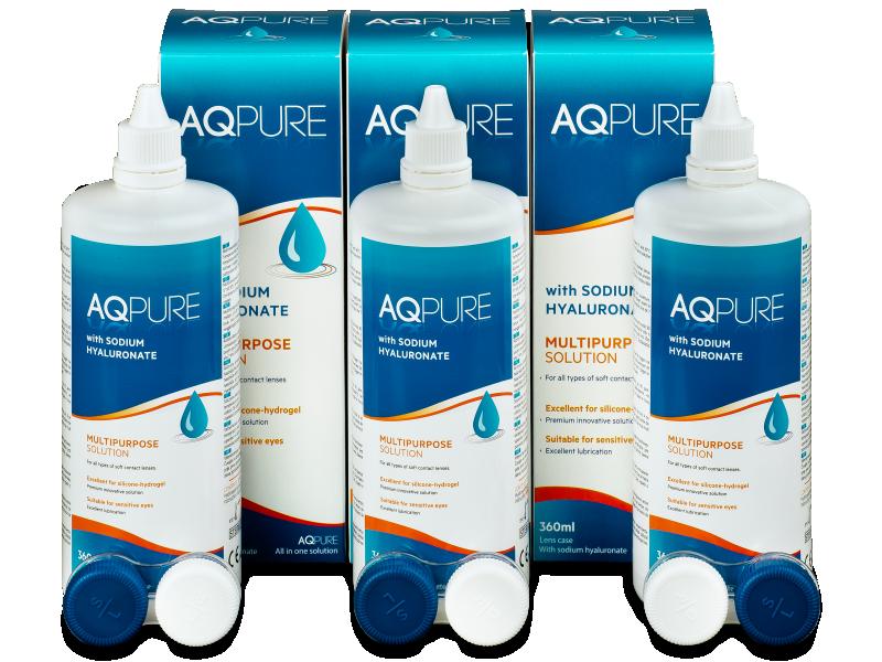 Pflegemittel AQ Pure 3 x 360ml  - Pflegelösung – 3er Pack