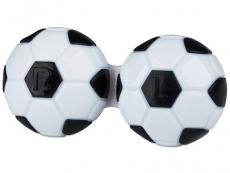 Behälter und Reise-Kits - Behälter Fußball - schwarz