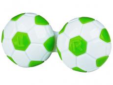 Behälter und Reise-Kits - Behälter Fußball - grün