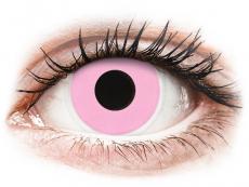 Spezielle Farblinsen ohne Stärke - ColourVUE Crazy Lens - Barbie Pink - ohne Stärke (2Linsen)