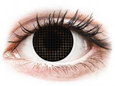 Spezielle Farblinsen ohne Stärke - ColourVUE Crazy Lens - Black Screen - ohne Stärke (2Linsen)