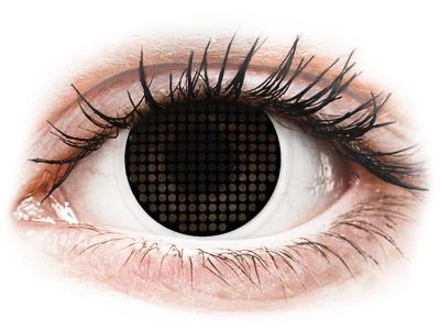 ColourVUE Crazy Lens - Black Screen - ohne Stärke (2Linsen)