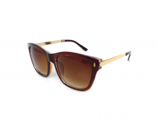 Sonnenbrillen Quadratisch - Damensonnenbrille Alensa Brown