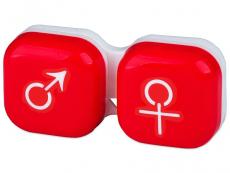 Behälter und Reise-Kits - Behälter man&woman - rot