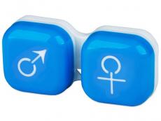 Behälter und Reise-Kits - Behälter man&woman - blau