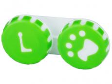 Zubehör - Behälter Pfote grün