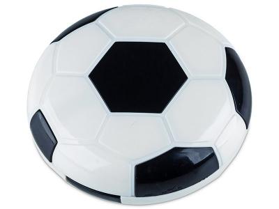 Kontaktlinsen-Etui Fußball - schwarz